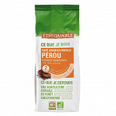 Ethiquable café moulu du Pérou bio 250g