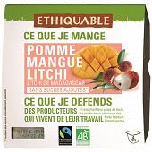Ethiquable dessert litchi mangue 4x100g