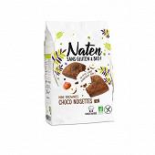 Naten sans gluten & bio mini brownies chocolat noisettes 170g