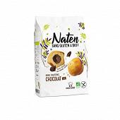 Naten sans gluten & bio mini muffins fourrés chocolat 200g