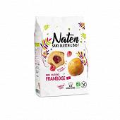 Naten sans gluten & bio mini muffins fourrés framboise 200 g