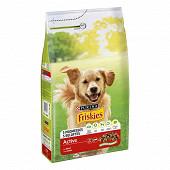 FRISKIES Vitafit Active Croquettes pour chien adulte au B?uf - 4 KG
