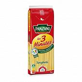 Panzani pâtes cuisson rapide spaghetti 1kg