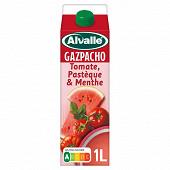 Alvalle gazpacho tomate pastèque et menthe brique 1L