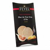 Feyel Duo gourmand bloc de foie gras d'oie 2x40g
