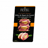 Feyel délice de magret de canard farci au bloc de foie gras de canard 20% 90g