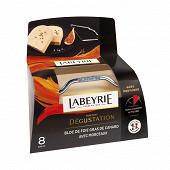 Labeyrie Bloc de foie gras de canard du Sud-Ouest avec morceaux barquette 300g + lyre