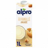 Alpro Boisson amande goût vanille 1l