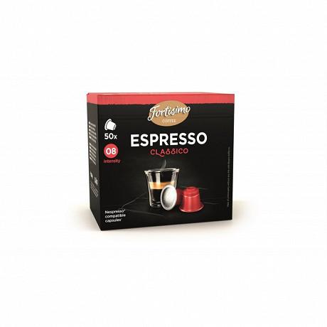 Beyers espresso classico capsules x50 fortisimo 250g