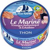 Petit Navire thon mariné vinaigre balsamique 110g