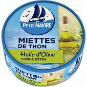 Petit Navire miettes de thon à l'huile d'olive 160g