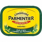 Parmentier sardines huile olive et herbes de provence 135 g