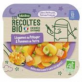 Bledina les recoltes bio légumes du potager et pommes de terre dès 12 mois 230g