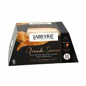 Labeyrie Bloc de foie gras de canard du sud-ouest avec morceaux au vieil armagnac 260g