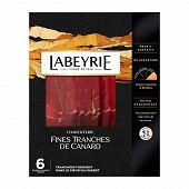 Labeyrie canard séché 6 grandes tranches fines 70g