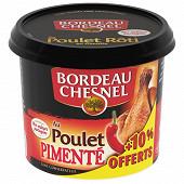 Bordeau Chesnel rillettes de poulet pimenté 200g +10% offert