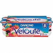 Velouté fruix fruits rouges 8x125g