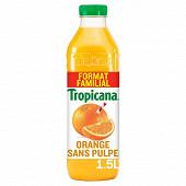Tropicana pure premium orange sans pulpe 1.5l format familial