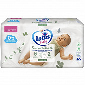 Lotus baby douce nature 45 couches T2