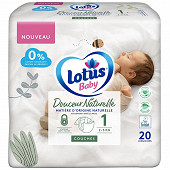 Lotus baby douce nature 20 couche t1