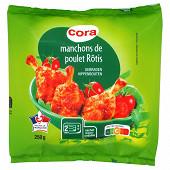 Cora manchons de poulet rôtis 250g