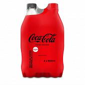 Coca-Cola zero sucres 4x50cl