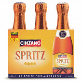 Cinzano spritz 3 x 20cl 6.7%vol