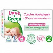 Love & green couche hypoallergeniques t2 x44