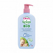 Love & green eau nettoyante bio 500ml