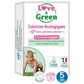 Love & green culottes hypoallergéniques t5 x18