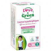 Love & green culottes hypoallérgéniques t6 x 16