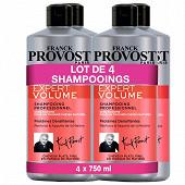 F.provost shampooing lot de 4x750ml expert volume