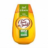 Lune de miel miel biologique acacia squeezer 500g