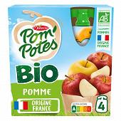Pom'potes bio pomme gourdes magiques 4x90g