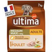 Ultima medium maxi adult poulet 7kg