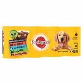 Pedigree boîtes pour chien en sauce les cuisinés aux petits légumes 4x400g
