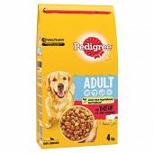 Pedigree croquettes pour chien adulte au boeuf sac 4kg