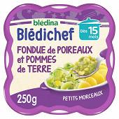 Bledina bledichef fondue de poireaux et pommes de terre dès 15 mois 250g