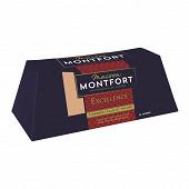 Montfort Excellence Bloc de foie gras d'oie 30% morceaux 12/14 parts 460g