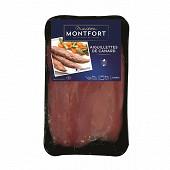Maison Montfort aiguillettes de canard crues 300g