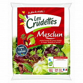 Les Crudettes salade mesclun sachet 100g