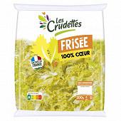 Les Crudettes salade frisée 100% coeur sachet 200g