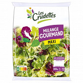 Les Crudettes salade mélange gourmand maxi sachet 320g