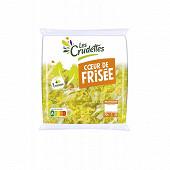 Les Crudettes salade coeur de frisée sachet 70g