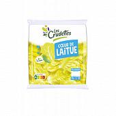 Les Crudettes salade coeur de laitue portion individuelle sachet 70g