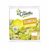 Les Crudettes salade scarole 100% coeur sachet 150g