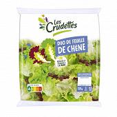 Les Crudettes salade duo feuille de chêne sachet 125g