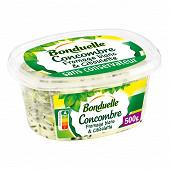 Bonduelle salade de concombres au fromage blanc 500g