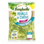 Bonduelle salade feuille de chêne sachet format maxi 175g