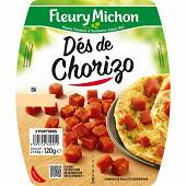Fleury Michon dés de chorizo 2 x 60 g